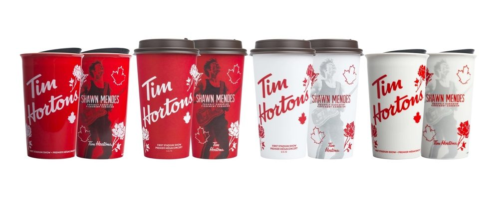 Tim Hortons Just Released Limited Edition Shawn Mendes Cups