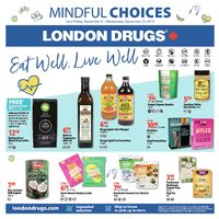 London Drugs - Mindful Choices Flyer