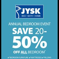 JYSK - Weekly - Annual Bedroom Event Flyer