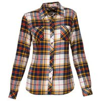 Natural Reflections Long-Sleeve Flannel Shirt