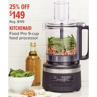 Kitchenaid Food Pro 9-Cup Food Processor