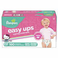 Pampers Easy Ups Training Pants Giant Pack