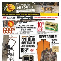 Bass Pro Shops - Deer Opener! Flyer