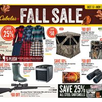 Cabelas - Fall Sale Flyer