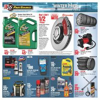 PartSource - Winter Prep Flyer
