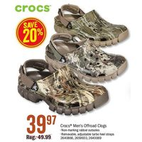 Crocs Men's Offroad Clogs