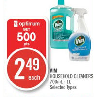 Vim Household Cleaners
