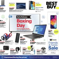 Best Buy - Early Release - Boxing Day Deals Flyer
