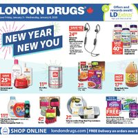 - 6 Days of Savings - New Year New You Flyer