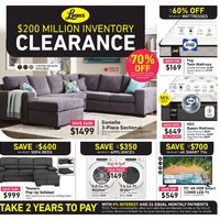 Leon's - Inventory Clearance Sale Flyer