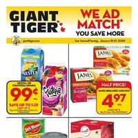 Giant Tiger - Weekly - Refresh For Less Flyer