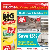 Home Hardware - Building Centre - 2 Weeks of Savings! Flyer