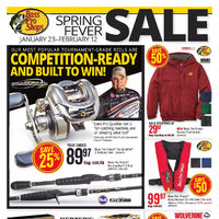 Bass Pro Shops - Spring Fever Sale Flyer