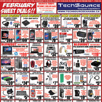 Tech Source - February Sweet Deals!! Flyer