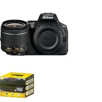 Nikon D5600 DSLR with AF-P DX Nikkor 18-55mm Lens Bundle