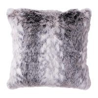 Margit Faux Fur Floor Cushion
