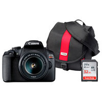 Canon EOS T7 DSLR 18-55mm IS Lens Kit, Bag And 32GB Card Bundle, EF 75-300mm F4-5.6 III Telephoto Zoom Lens