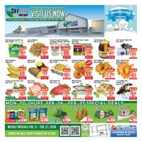 Skyland Foodmart - Weekly Specials  Flyer