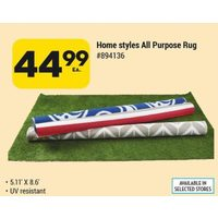 Home Style All Purpose Rug