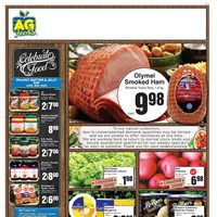 AG Foods - Weekly Specials Flyer