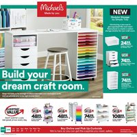 - Build Your Dream Craft Room Flyer