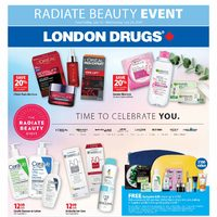 - Radiate Beauty Event Flyer