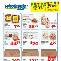 Wholesale Club - Street Food Flavours Flyer