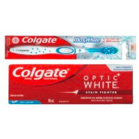 Colgate Optic White Stain Fighter Toothpaste, Total Mouthwash or Maxwhite Manual Toothbrush