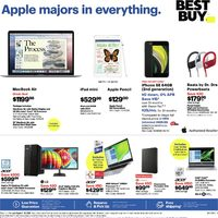 Best Buy - Weekly - Apple Majors in Everything Flyer