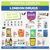 London Drugs - Mindful Choies - Eat Well, Live Well Flyer