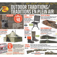 Bass Pro Shops - Outdoor Traditions Flyer