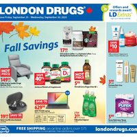 London Drugs - 6 Days of Savings - Fall Savings Flyer