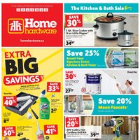 Home Hardware - Weekly - The Kitchen & Bath Sale Flyer