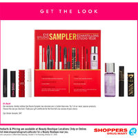 Shoppers Drug Mart - Beauty Boutique Locations Only - Get The Look Flyer