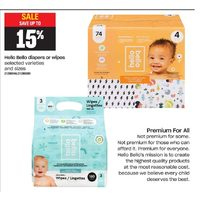 Hello Bello Diapers or Wipes