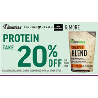 Ironvegan, Genuine Health & More Protein