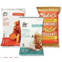 Be Better Kettle Chips or Nosh & Co. Cheese Crunchies