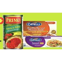 Catelli Smart or Healthy Harvest Pasta Primo Pasta Sauce