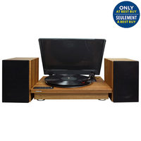 "Toshiba 12"" Bluetooth Turntable With Stereo Speakers"