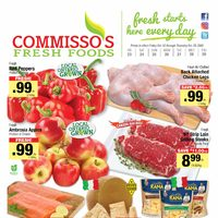 Commisso's Fresh Foods - Weekly Specials Flyer