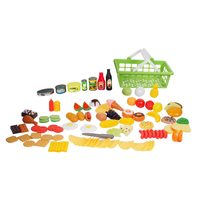 Kid Connection 100-Piece Play Food Set or 1st Microwave Oven