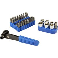 Power Fist 42 Pc Ratcheting Screwdriver Set