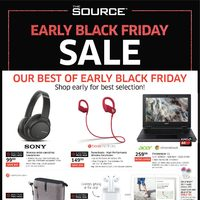 The Source - Early Black Friday Sale Flyer