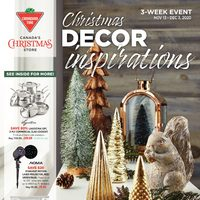 Canadian Tire - Christmas Decor Inspirations Flyer
