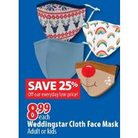 Wedingstar Cloth Face Mask