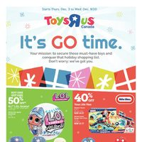 Toys R Us - Weekly - It's Go Time Flyer