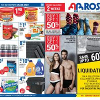 Rossy - 2 Weeks of Savings Flyer