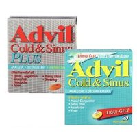 Advil Cold & Sinus Plus or Nighttime Caplets or Liqui-Gels, Extra Strength Cold, Sinus & Flu or Cold, Cough & Flu Nighttime