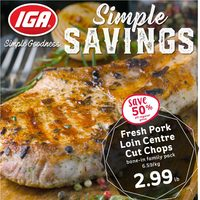 MarketPlace IGA - Weekly Specials - Simple Savings Flyer