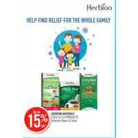 Herbion Naturals Cold & Flu Products